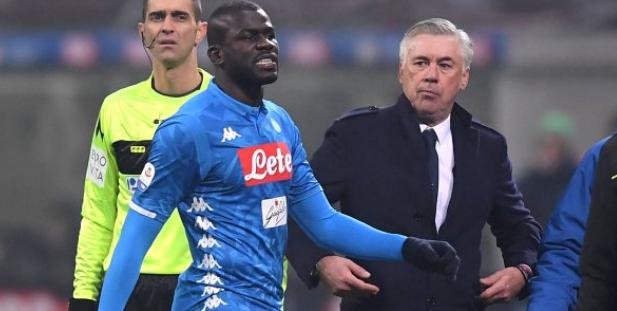 皇马追求库利巴利遇阻,安切洛蒂明确该球员非卖