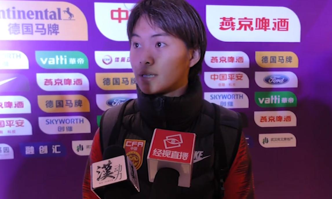王霜:感觉自己状态不是特别好,决赛要给球迷带来胜利