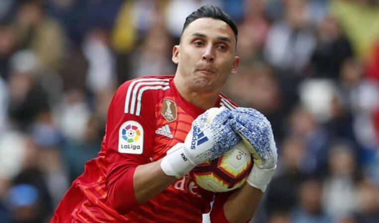 纳瓦斯为皇马出战100场联赛,排球队历史第八位