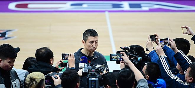 郭士强:韩德君没有恢复训练,半决赛肯定打不了