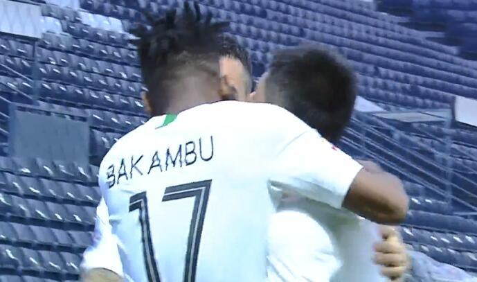 GIF:国安梦幻开局!巴坎布破门,国安1-0武里南联