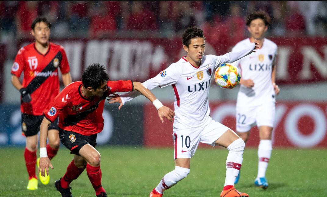 亚冠第三轮综述:鹿岛补时2球逆转庆南,浦和不敌全北