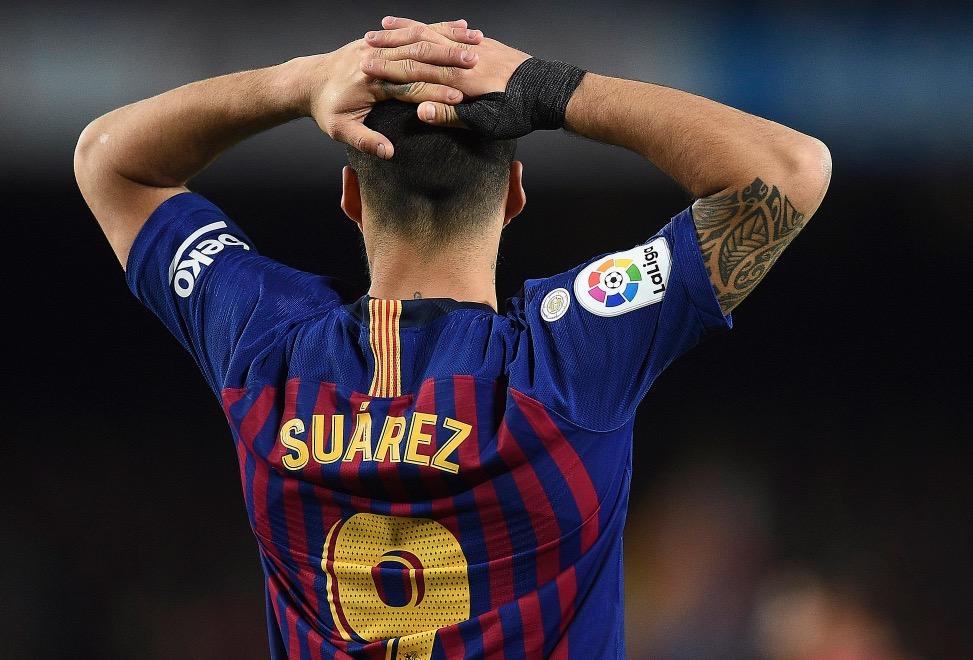 窗户纸难破,苏亚雷斯近17个欧冠客场进不了球  第1张