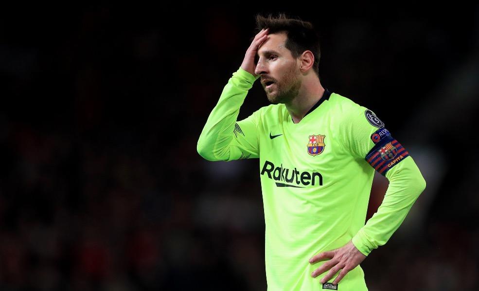 梅西近12场欧冠1/4决赛没进球,C罗进16球  第1张
