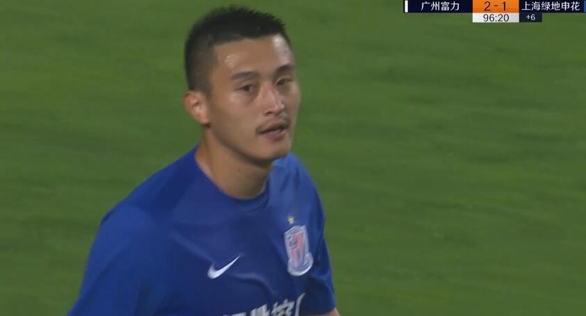 GIF:都是命!朱建荣96分钟乌龙!富力2-1申花