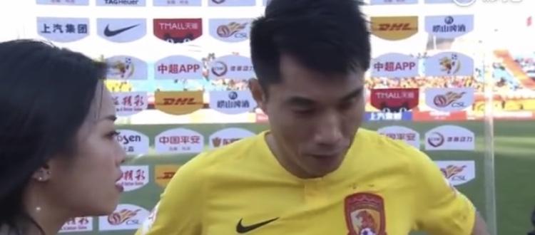 郑智:很遗憾我们本该取胜的,最后丢球因注意力不集中