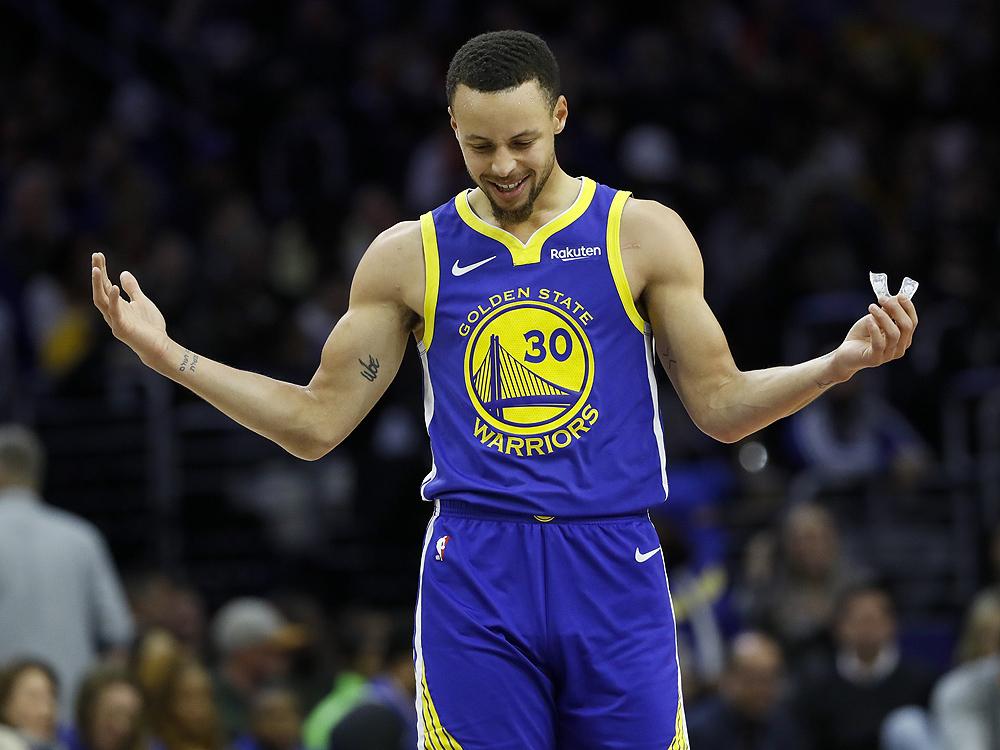 库里砍下38分15篮板7助攻,篮板创个人季后赛新高