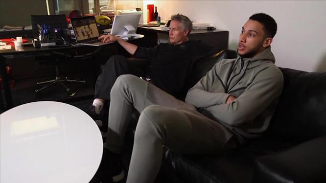 布朗:西蒙斯会找回形态,由于他真的很优秀很有好胜心