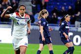 女足法甲焦点战里昂5-0横扫巴黎,下轮取胜即可夺冠