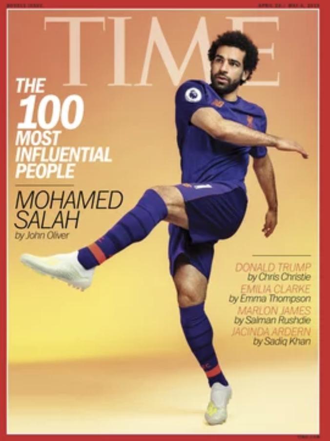 登上时代周刊封面,萨拉赫呼吁支持中东地区的女权