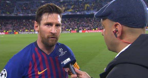 梅西:两个进球运气不错,接下来要首先拿下联赛