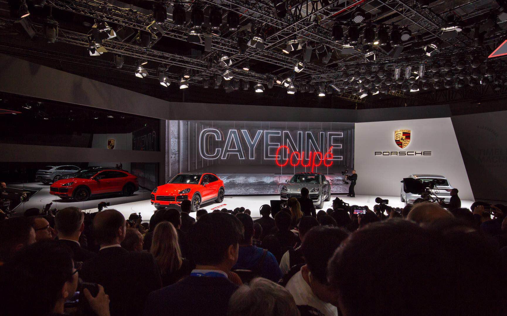 Cayenne Coupe和全新911,8.1豪车馆中最棒的收获