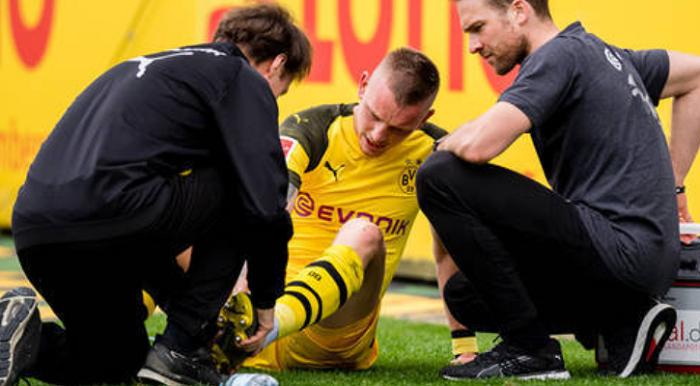 德媒:多特边卫沃尔夫没有伤到韧带,有望提前恢复