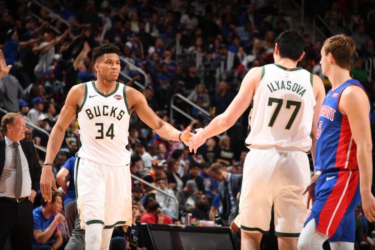 雄鹿与活塞全场罚球数相差29个,NBA历史近4年首次