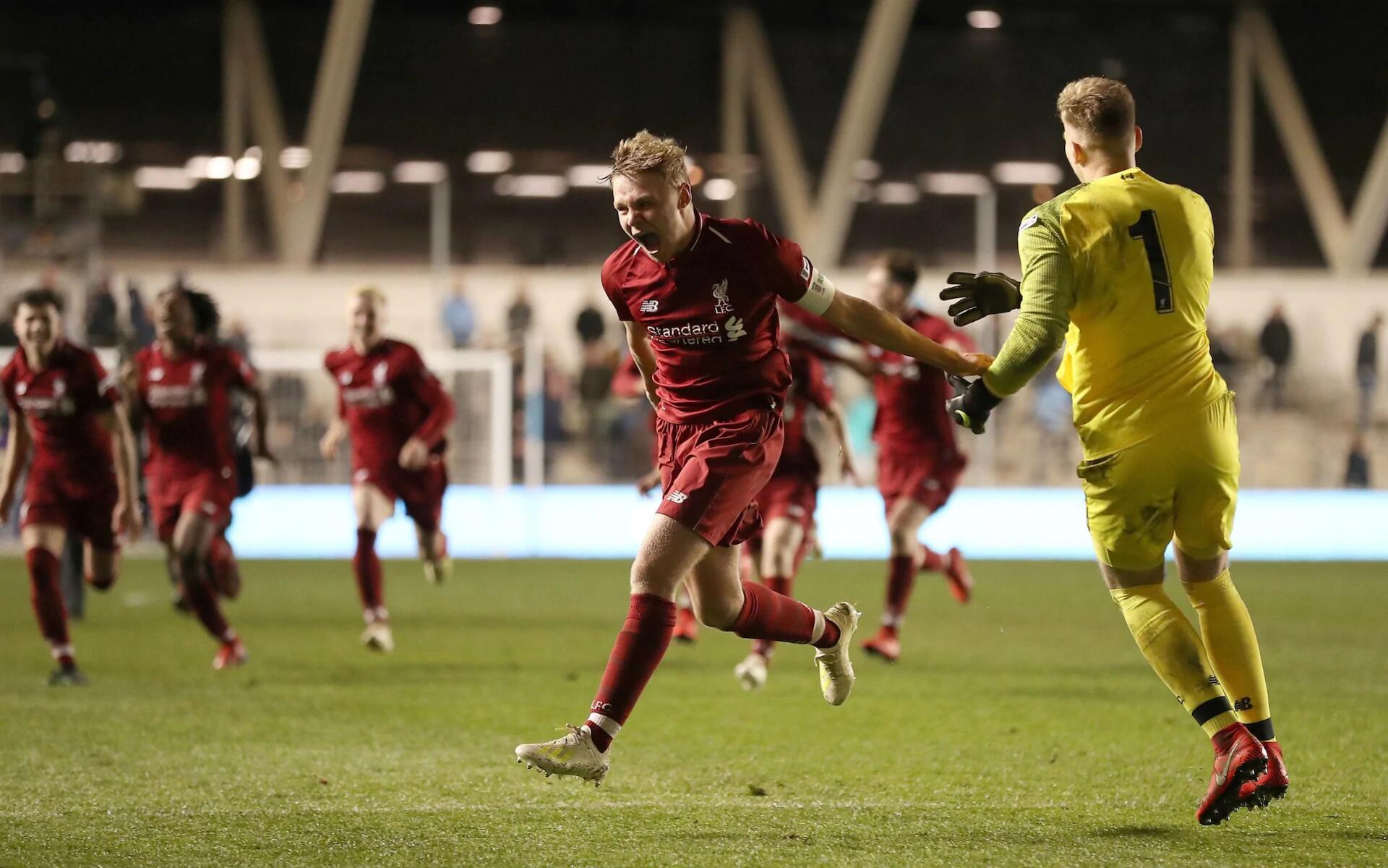 点球大战!利物浦青年队战胜曼城青年队夺得足总杯冠军
