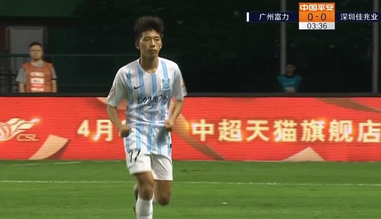 足球国家队世界排名 球都没碰过!富力首发U23小将黎宇扬4分钟换下