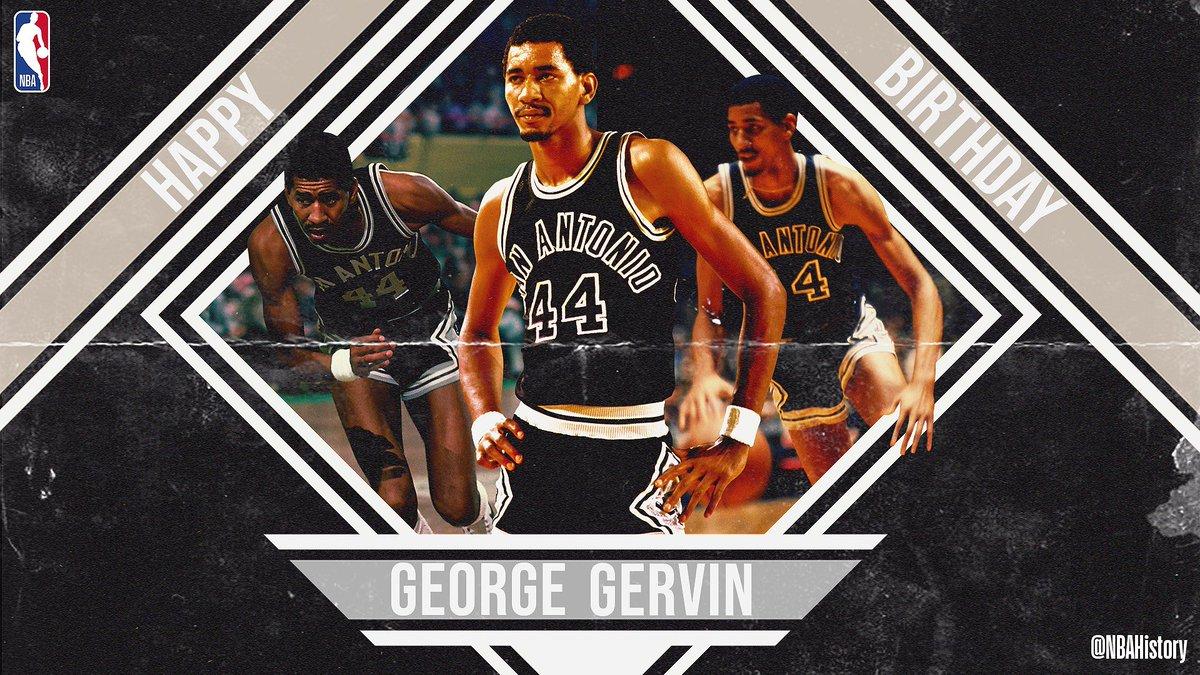 NBA官方祝乔治-格文67岁生日快乐