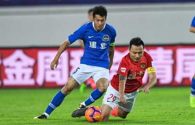 半场:郜林破门黄博文任意球中柱,恒大1-0建业