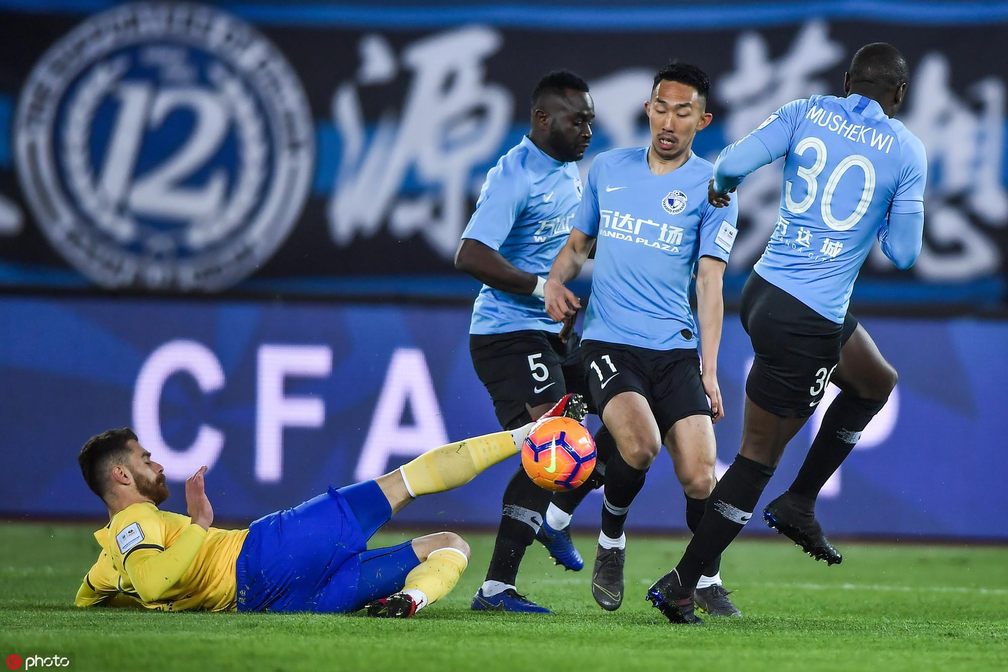 足协杯:朱挺建功,一方1-0胜陕西晋级
