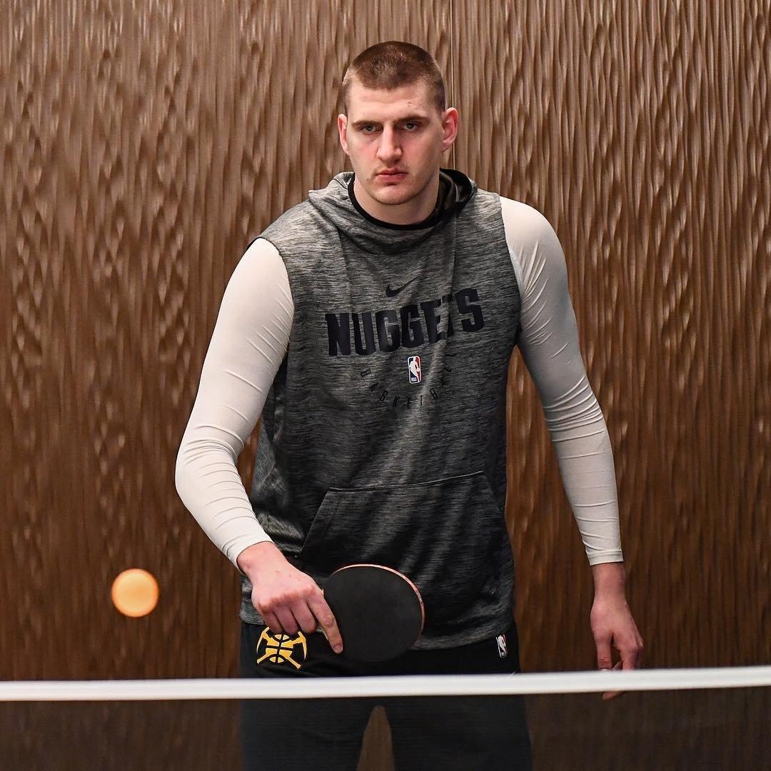 约基奇:除了篮球之外爱打乒乓球,最喜欢的球员是邓肯