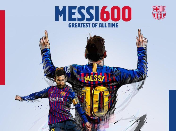 怎么吹?梅西打入个人巴萨职业生涯第600球!