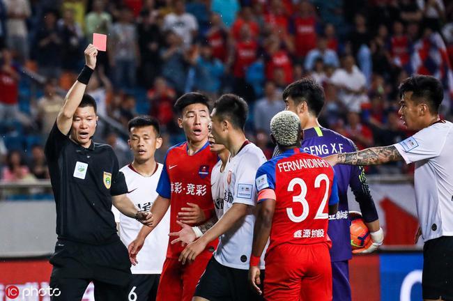 耿晓峰就红牌致歉:绝非故意伤害元敏诚,必定引以为戒
