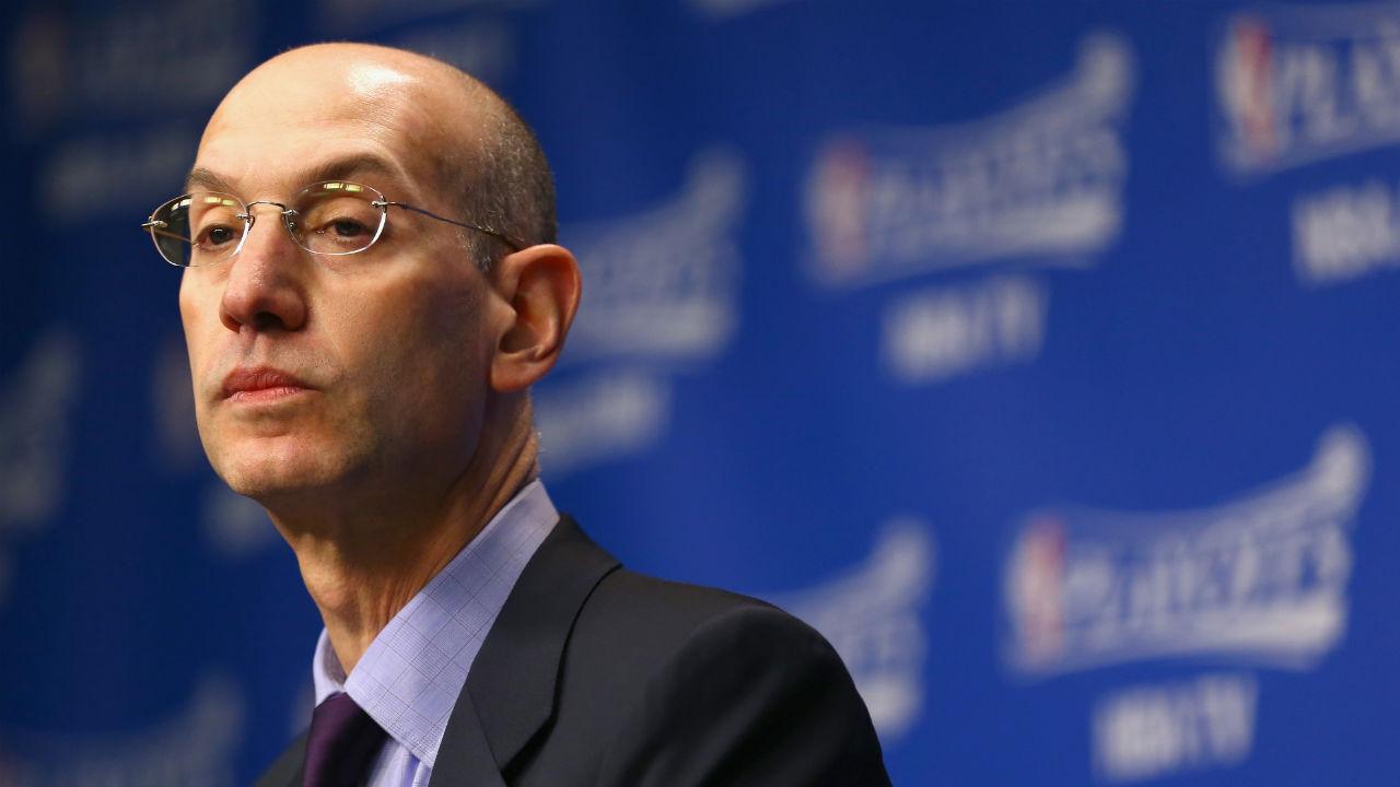 NBA总裁亚当-萧华今日将现场观看勇火大战