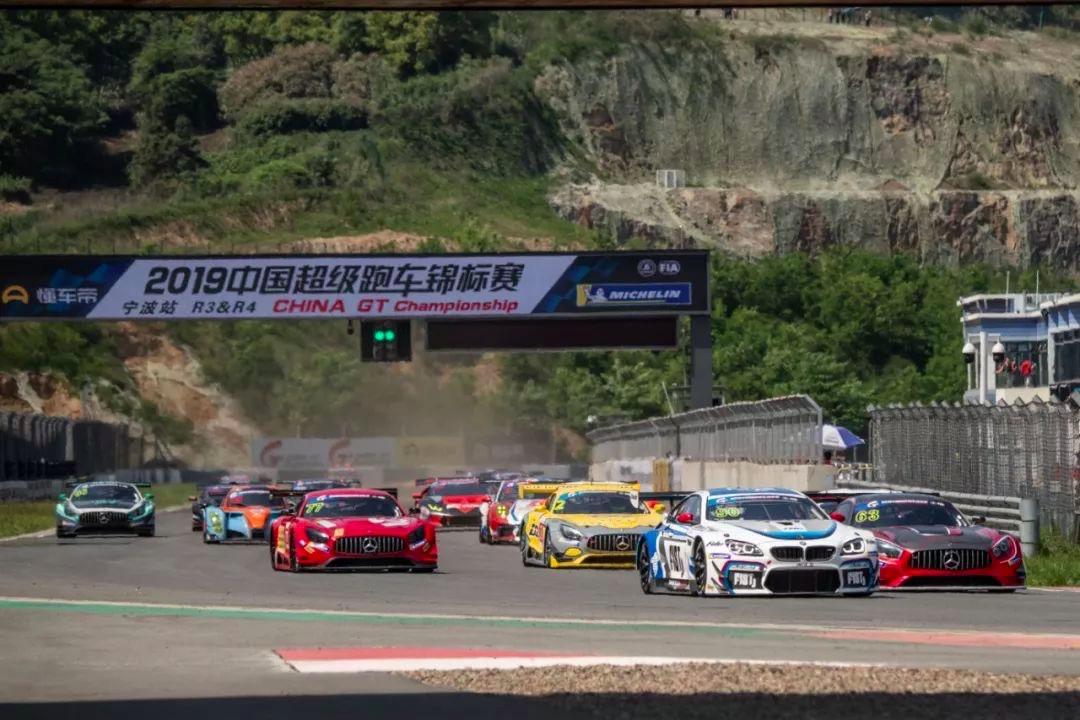 China GT宁波第3回合:M6 GT3赛车无人可挡