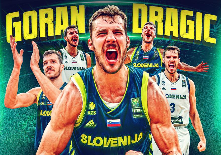 FIBA官方:祝上届欧锦赛冠军德拉季奇33岁生日快乐