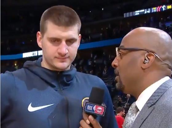 约基奇:米尔萨普攻防两端表现出色,篮板对系列赛很重要