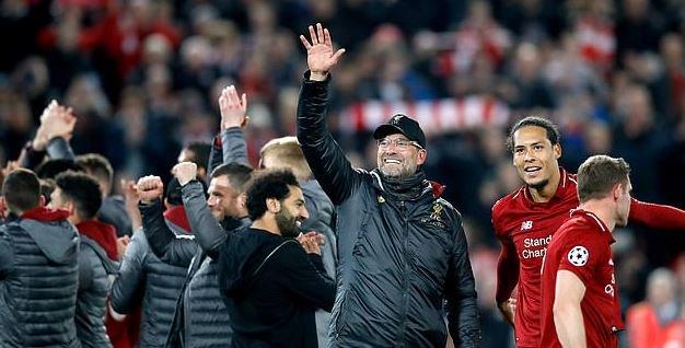 小老板詹姆斯发推祝贺利物浦晋级:哇喔,太棒的夜晚了!
