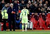 惨淡啊,库蒂尼奥对利物浦两回合比赛仅创造1次机会