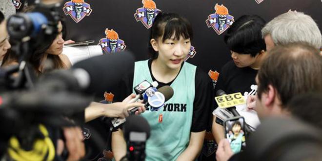 韩旭WNBA首秀将对中国,教练考虑让其上场20分钟