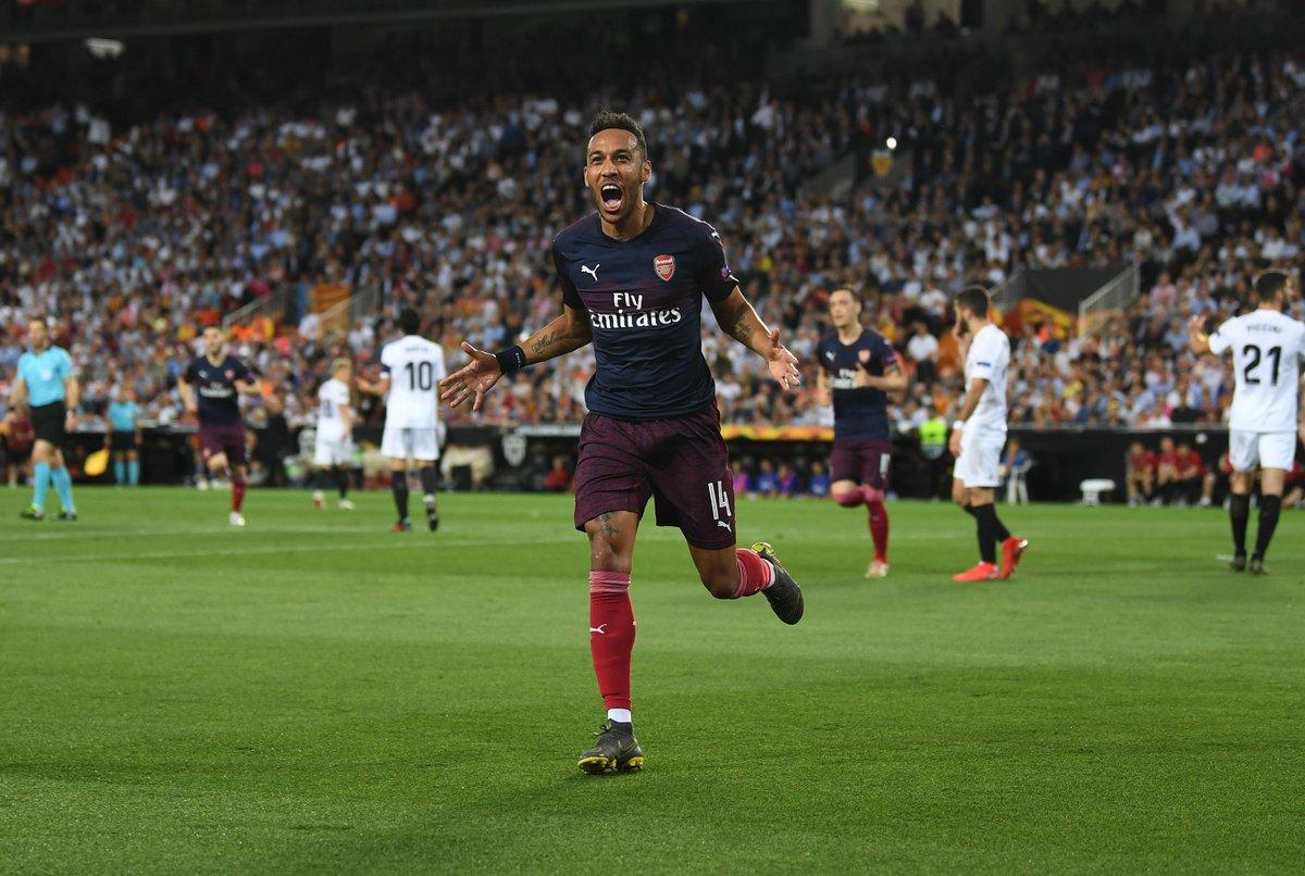 GIF:奥巴梅扬梅开二度,阿森纳再次总比分三球领先