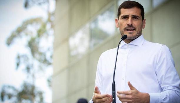 西足协主席:希望在下个月为卡西利亚斯举办纪念赛