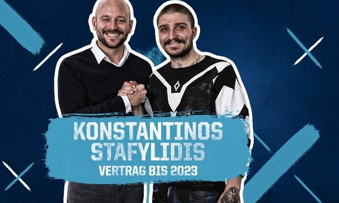 官方:霍芬海姆签下奥格斯堡边卫斯塔菲利迪斯
