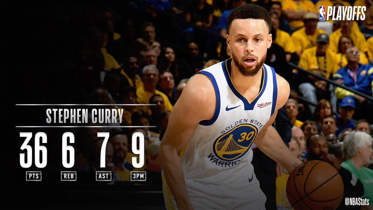 NBA官方评选今日最佳数据:库里36+6+7当选