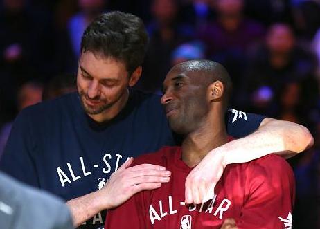 大加索尔:和科比一起的6年半是我篮球生涯里最美好的时光