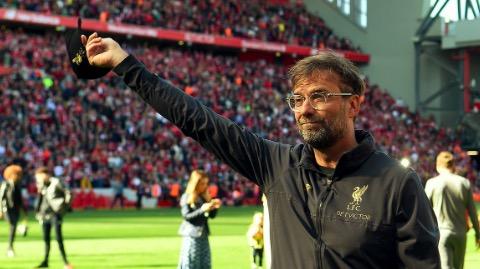 若远射算两分, 利物浦将夺得本赛季英超冠军