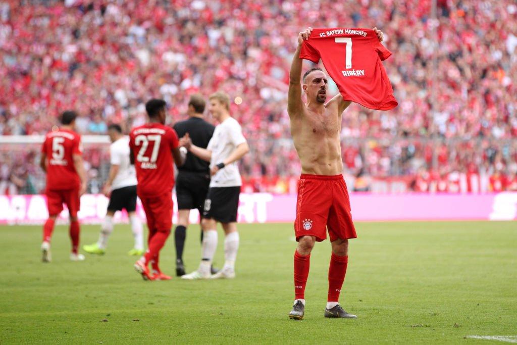 安联国王!里贝里独揽 9个德甲冠军, 居历史第一