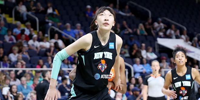 WNBA季前赛:邵婷 1助攻, 韩旭 1篮板