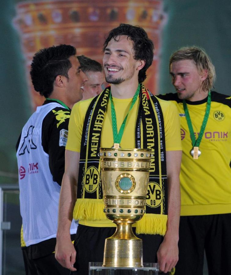 德国杯决赛四连亚!胡梅尔斯:亚军确实拿太多了