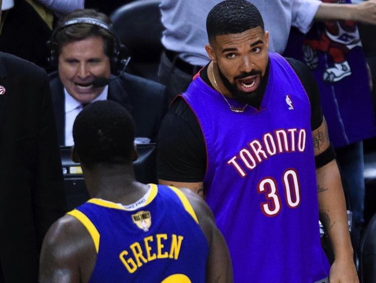 勇士格林谈与Drake互喷:这不算冲突,我们也没动手