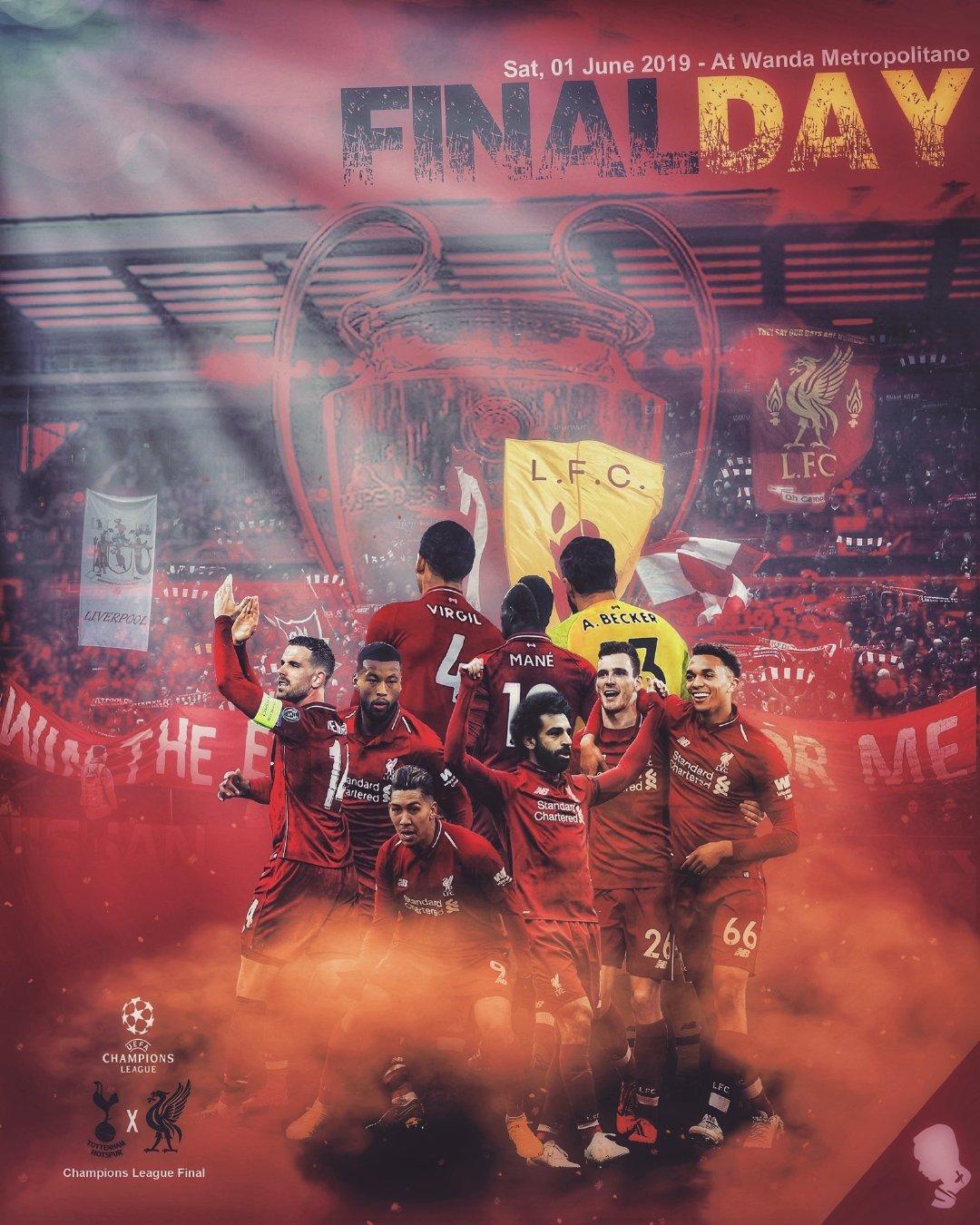 剑指马德里!利物浦官推用四张海报回顾本赛季欧冠征程