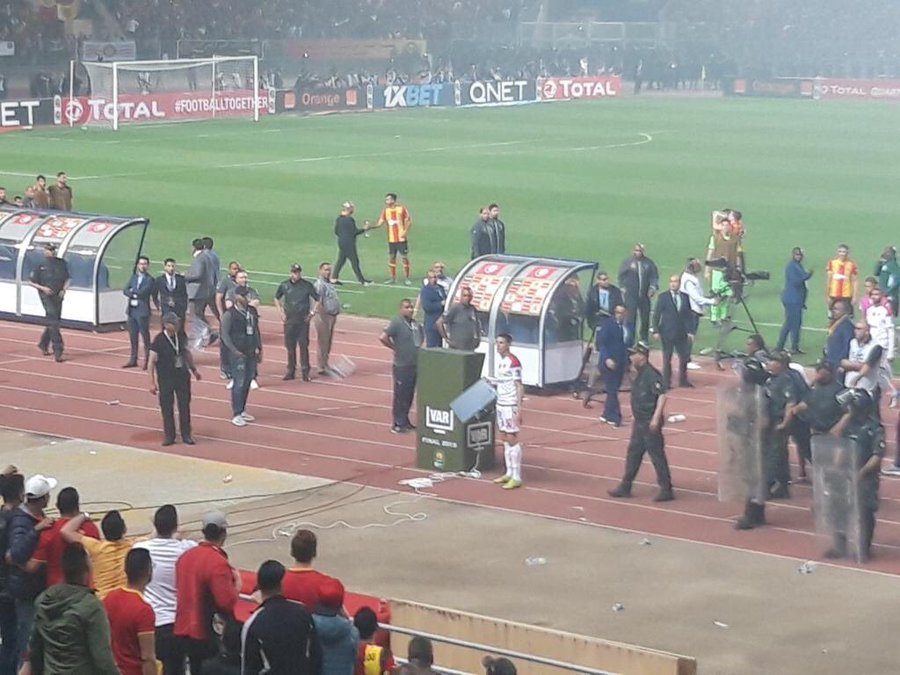 主裁拒用VAR更正判罚,非冠决赛摩洛哥球队愤然退赛