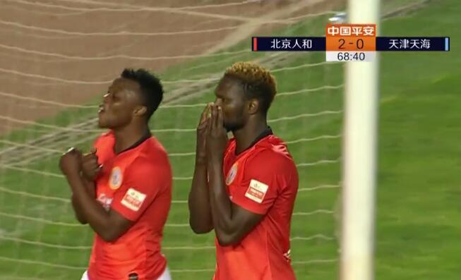 GIF:真是太快了!马西卡反击助攻迪奥普,人和2-0天海