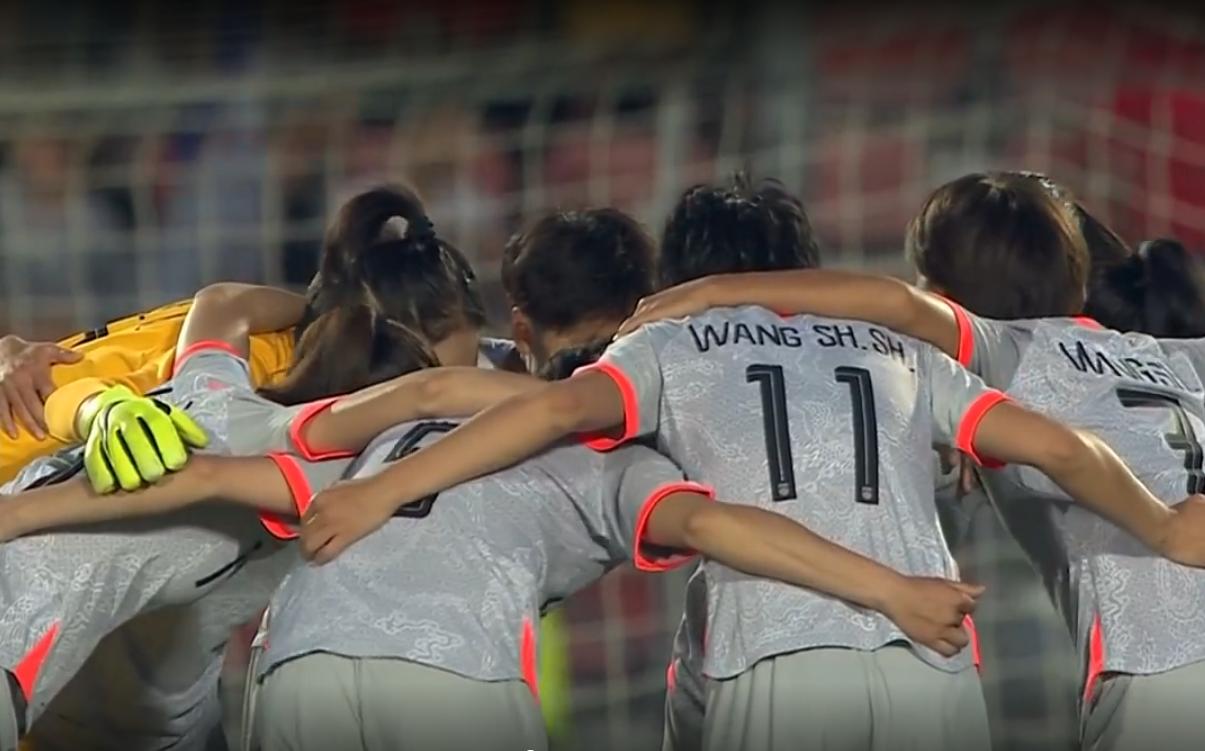 热身赛:中国女足1-2法国女足,王霜助攻王珊珊破门