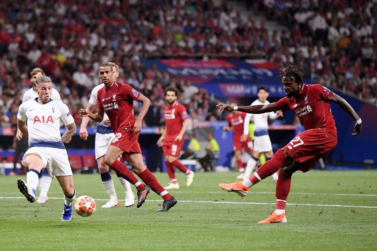 在过去六年的欧冠决赛中,替补球员登场五次进球