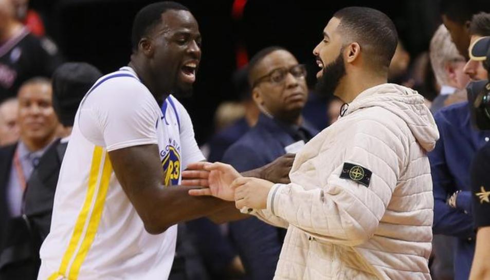 格林谈自己与Drake关系:人们对我们互喷垃圾话过度反应了