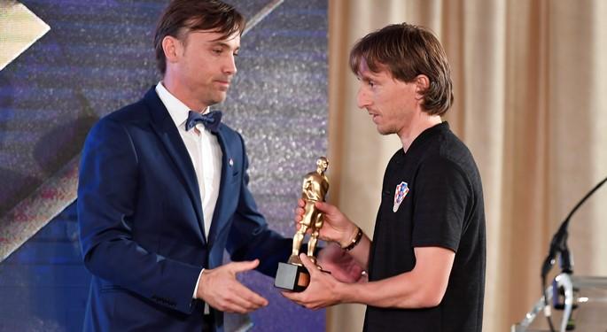 官方:莫德里奇当选克罗地亚足协赛季最佳球员